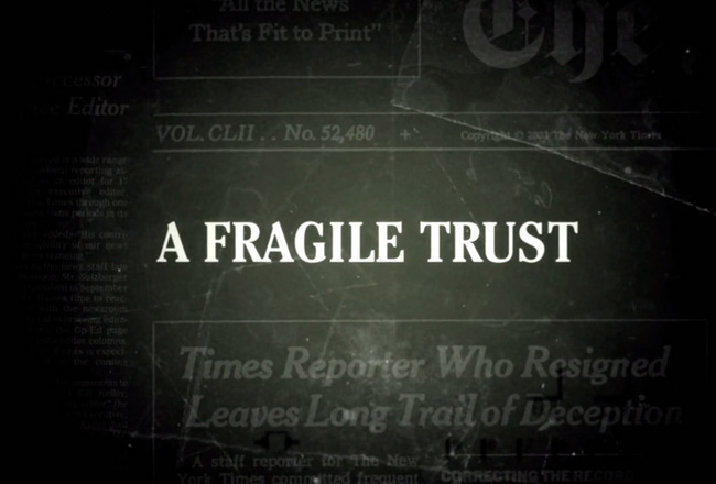 Samantha grant a fragile trust interview