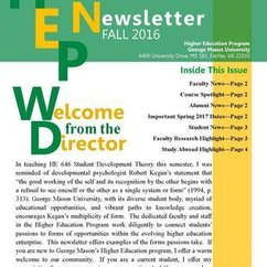 HEP 2016 Fall Newsletter