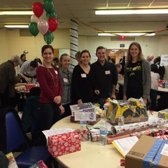 CLS Graduate Students Participate in Toy Drive