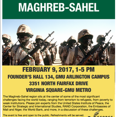Conference On Security in The Maghreb-Sahel