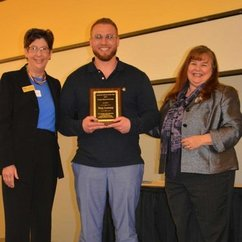 HEP Student Named Academic Advisor of the Year