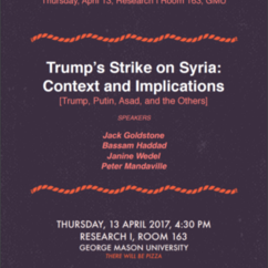 Trump's Strike on Syria:  Context and Implications