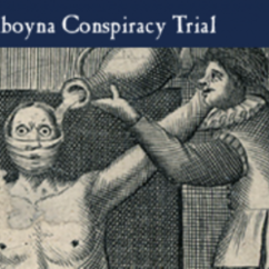 Amboyna Conspiracy Trial Website Named Finalist for NSW Premier's History Award