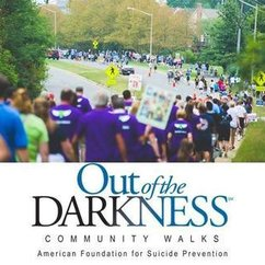 "GMU CPS Participates in the ""Out of the Darkness"" 5K"