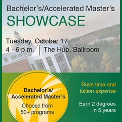 Bachelor's/Accelerated Master's Showcase