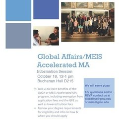 MEIS Accelerated Master's Information Session