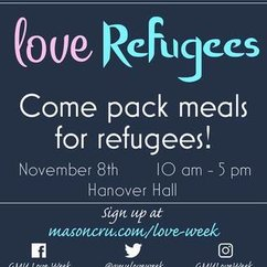 Mason Love Week Leads Cause To Help Refugees In Middle East