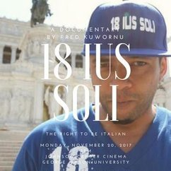 """18 IUS SOLI"" : Film Screening"