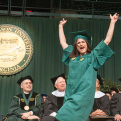 George Mason University Winter Graduation