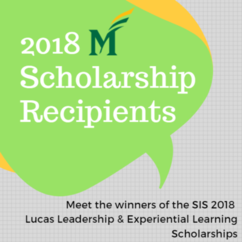 Meet the 2018 Scholarship Recipients