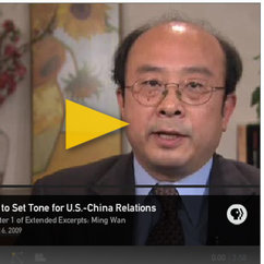 Ming Wan Analyzes Possible Outcomes of Obama's China Trip