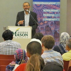 Fall Lecture Series starts with talk by Jasser Auda