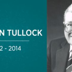 The Passing of Gordon Tullock (1922 - 2014)