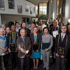 College Faculty Members Honored for Excellence in Teaching