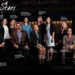 HEP Faculty Members Kelly Schrum and Jaime Lester Named Rising Stars by Mason Spirit