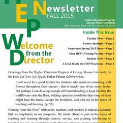 HEP Fall 2015 Newsletter
