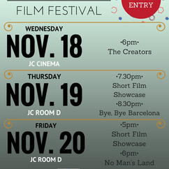 Global Film Club: Mini Global Film Festival 11/18-11/20
