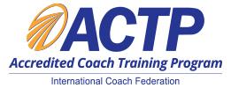 ICF ACTP
