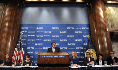 National Press Club briefing
