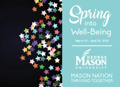 Spring into Well-Being 2018 graphic