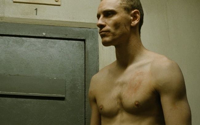 Hunger starring michael fassbender michael fassbender and brian milligan 18