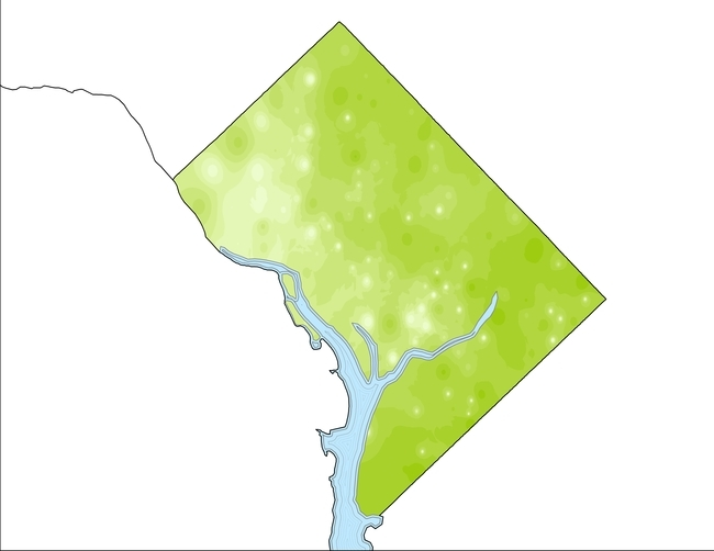 Dc map for webpage