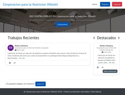 Corporacion para la Nutricion INfantil