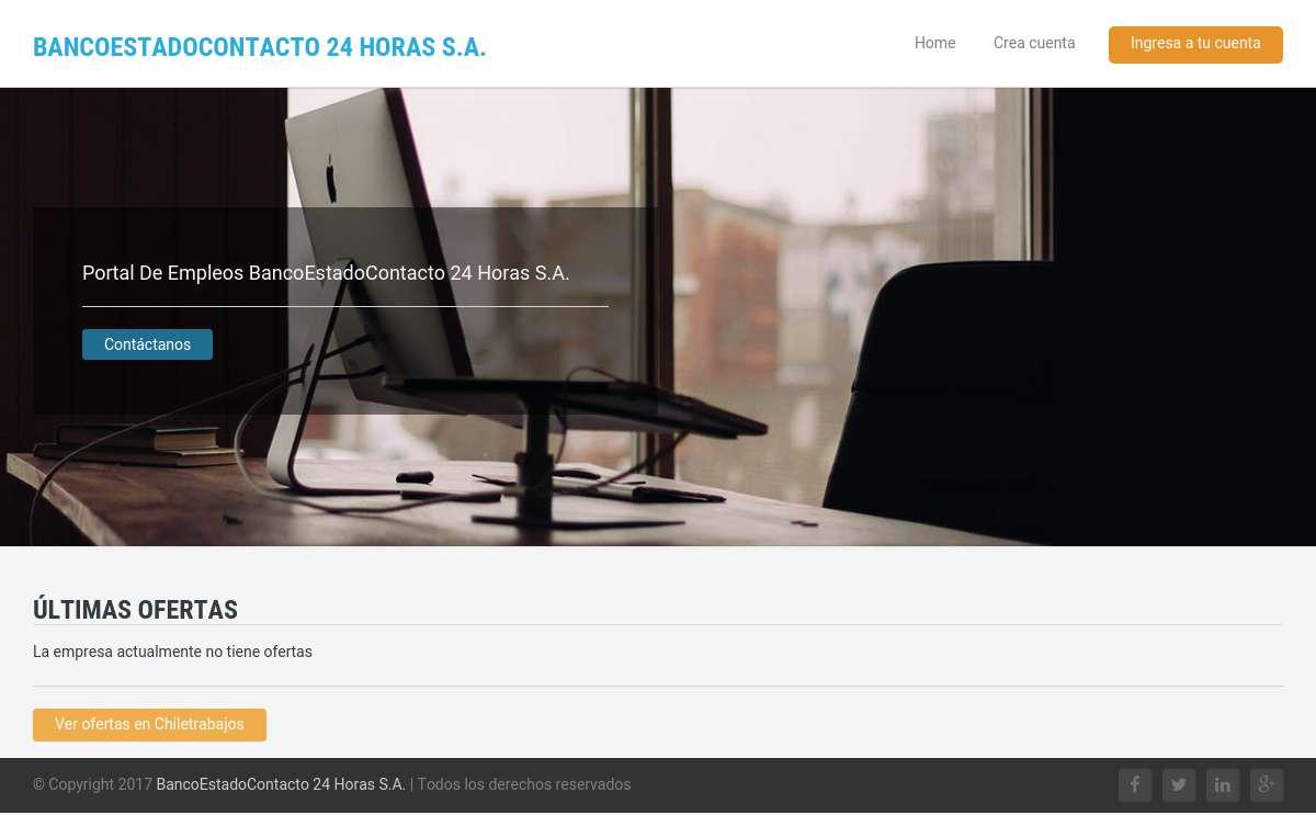 BancoEstadoContacto 24 Horas S.A.