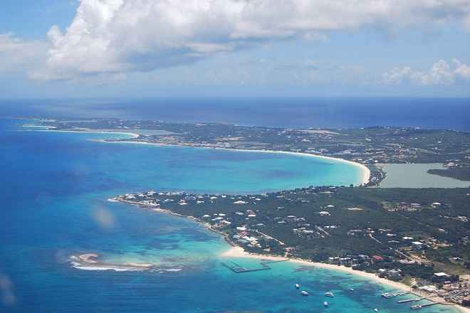 Anguilla-aerial view