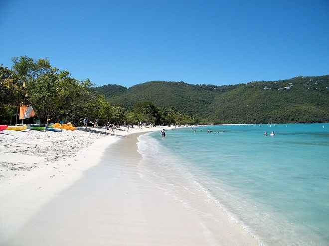 beach at Magens Bay, Saint Thomas