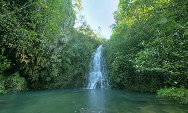 The Upper Falls — Cockscomb Basin Wildlife Sanctuary