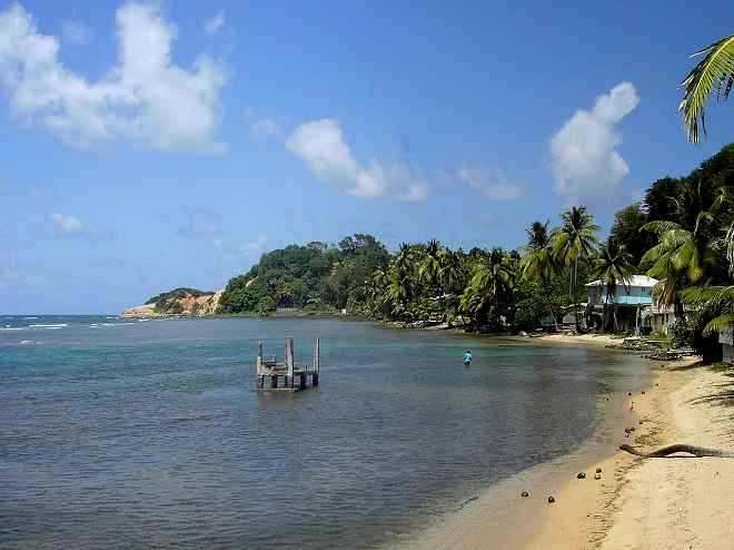 Calibishie Beach Dominica