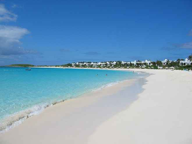Maundays Bay beach  Anguilla