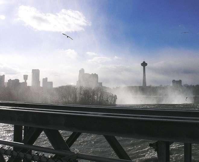 Skyline of Niagara Falls, Canada