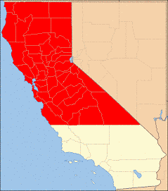 Northern California counties