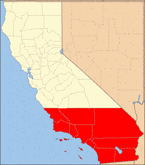 Southern California counties