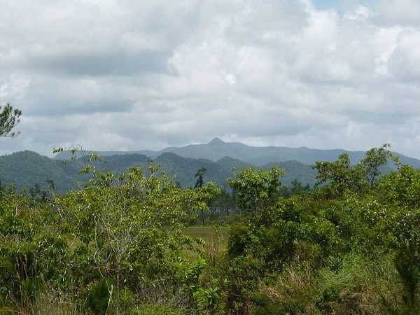 Maya Mountains with Victoria Peak Belize