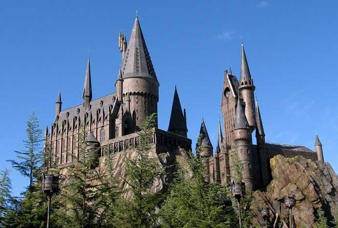 Hogwarts Castle in Harry Potter