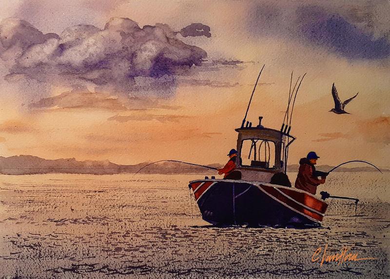 Fishing Buddies - Sold