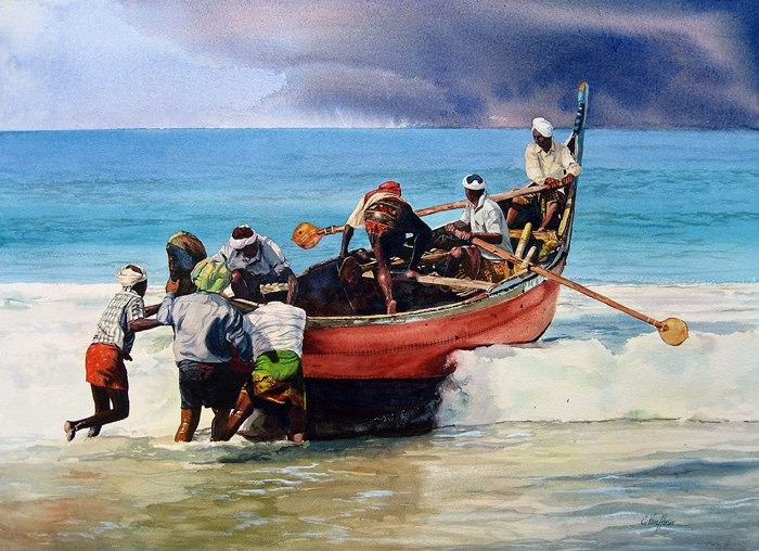 Fishermen of Kerala