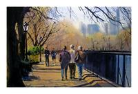 Walkers & Joggers - Central Park Resevoir