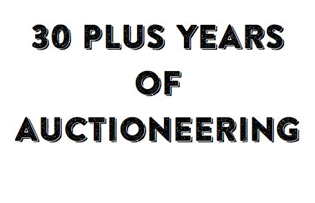 30 Plus Years of Auctioneering