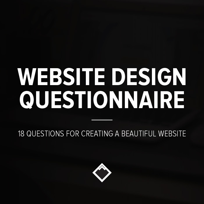Website design questionnaire church brand guide michael persaud