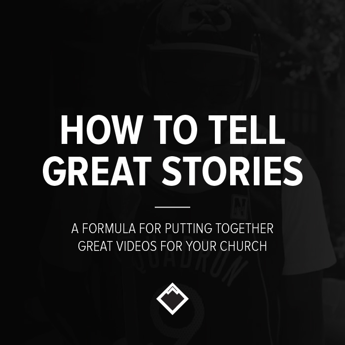 how to tell great stories church brand guide michael persaud