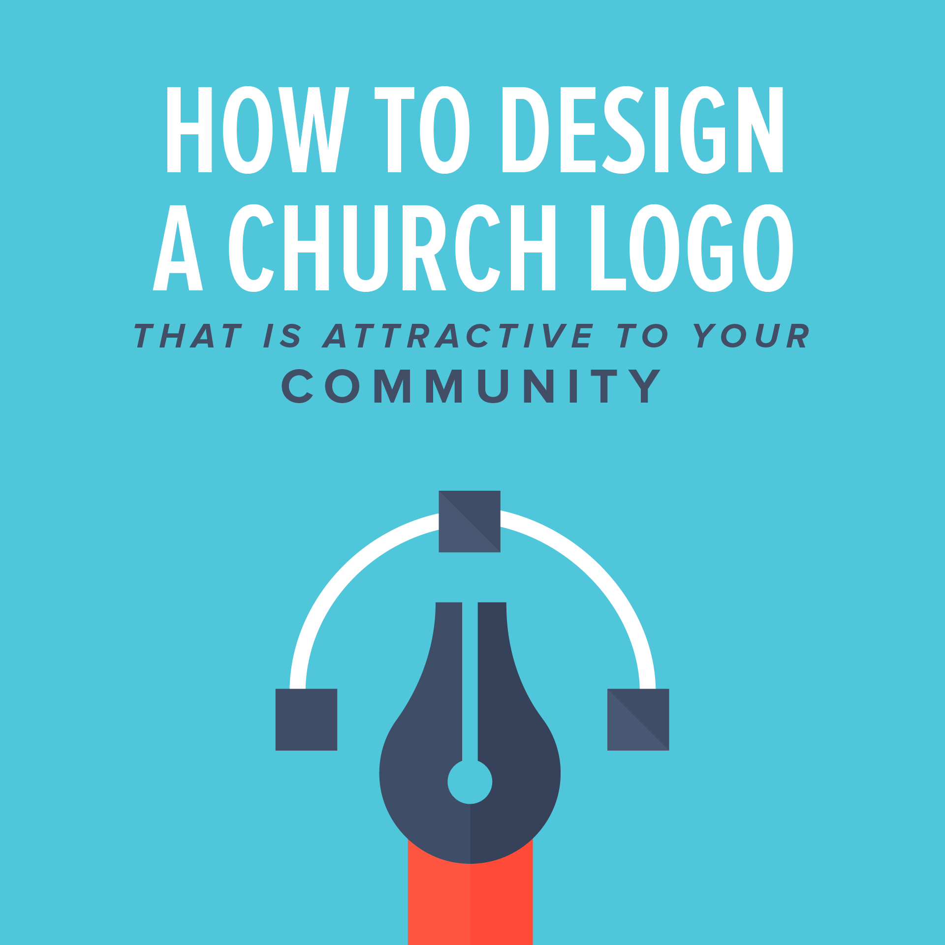 How to design a church logo