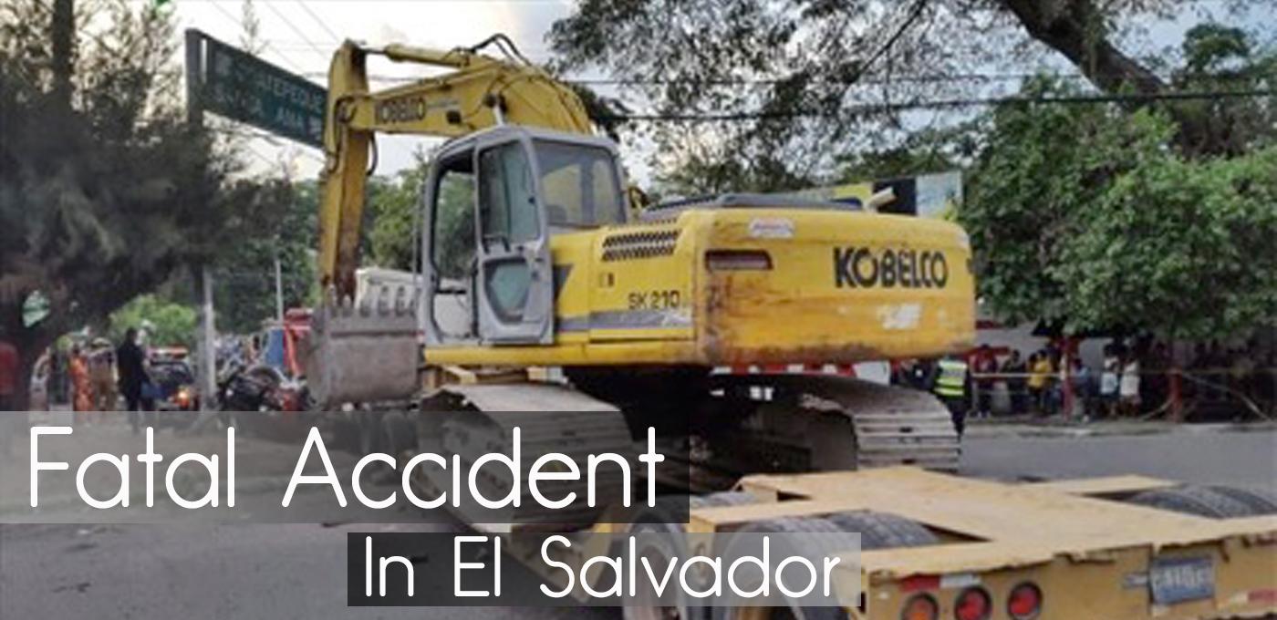 Fatal Accident in El Salvador