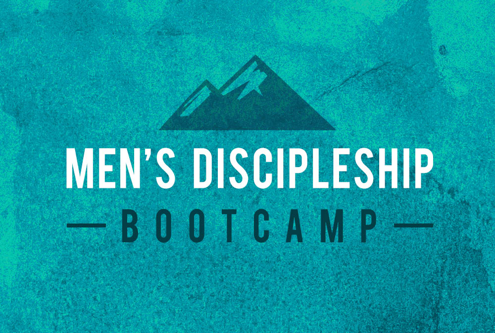 Men's Discipleship Boot Camp banner