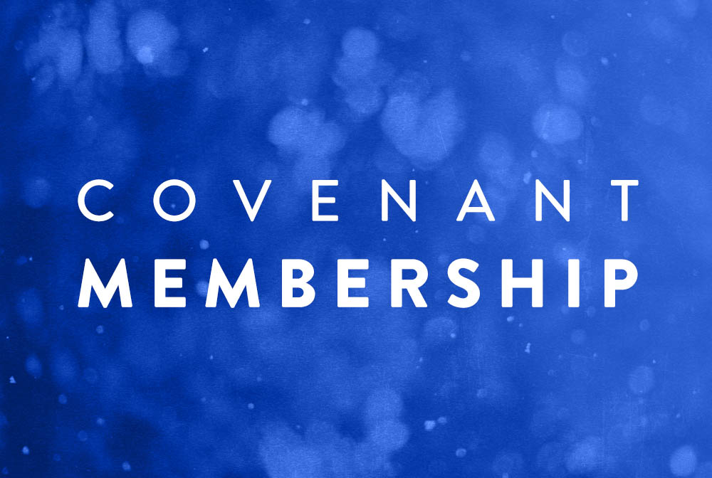 Covenant Membership banner