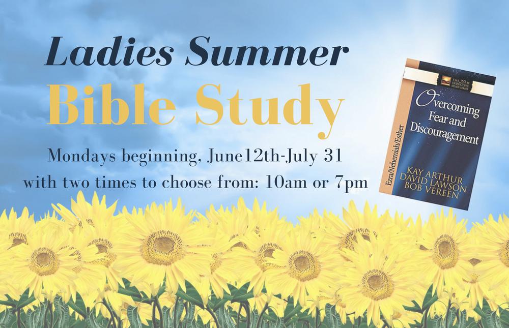 Website- Ladies Summer Bible Study