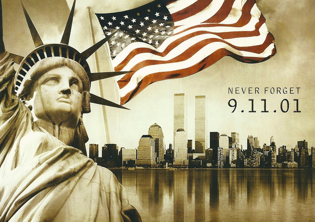 9-11 never forget